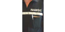 Picture of a paramedic in uniform, representing the Division of Certification.