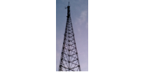 Picture of a radio tower, representing the Medical Command Radio System.